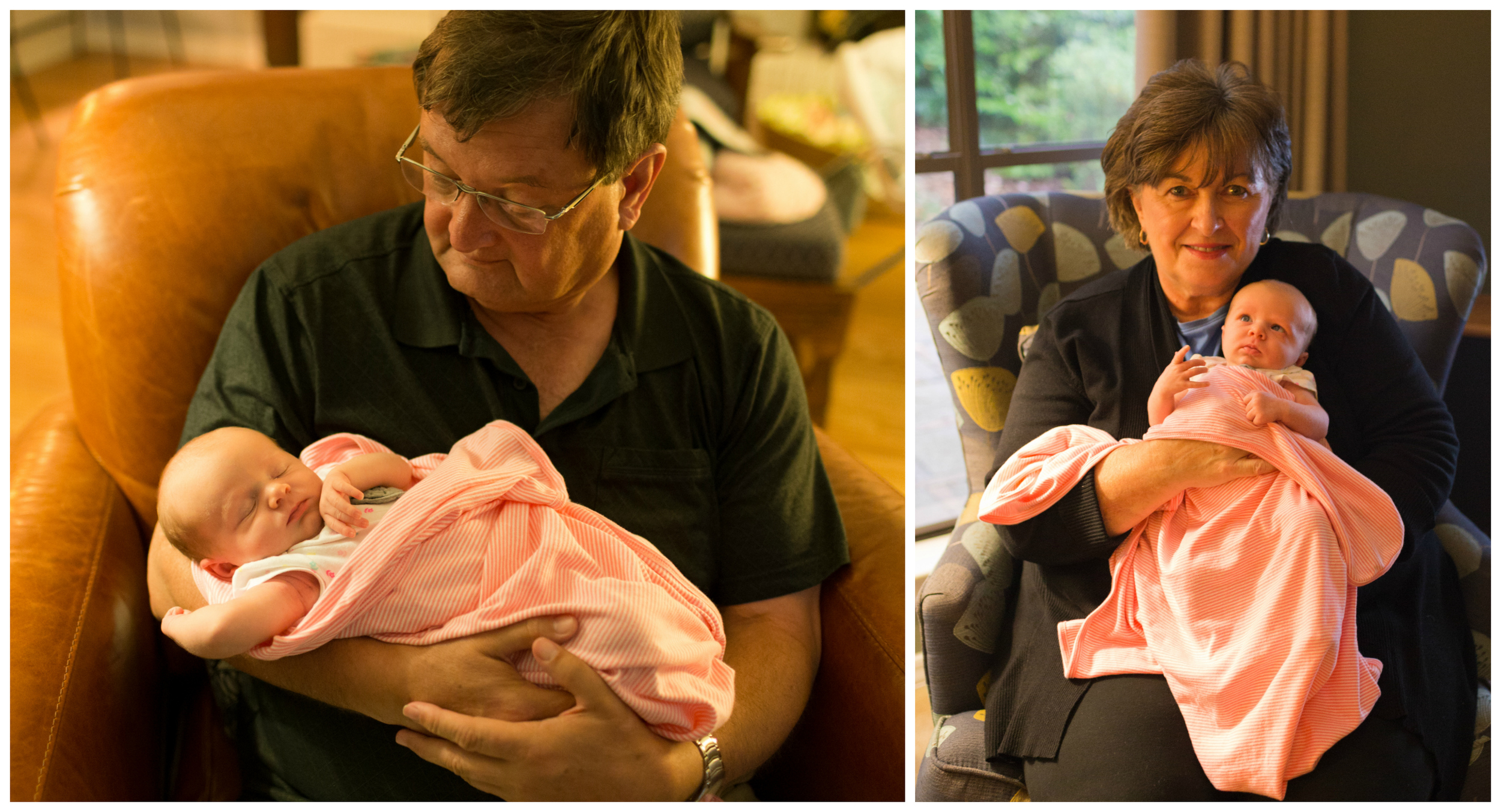 baby with grandparents