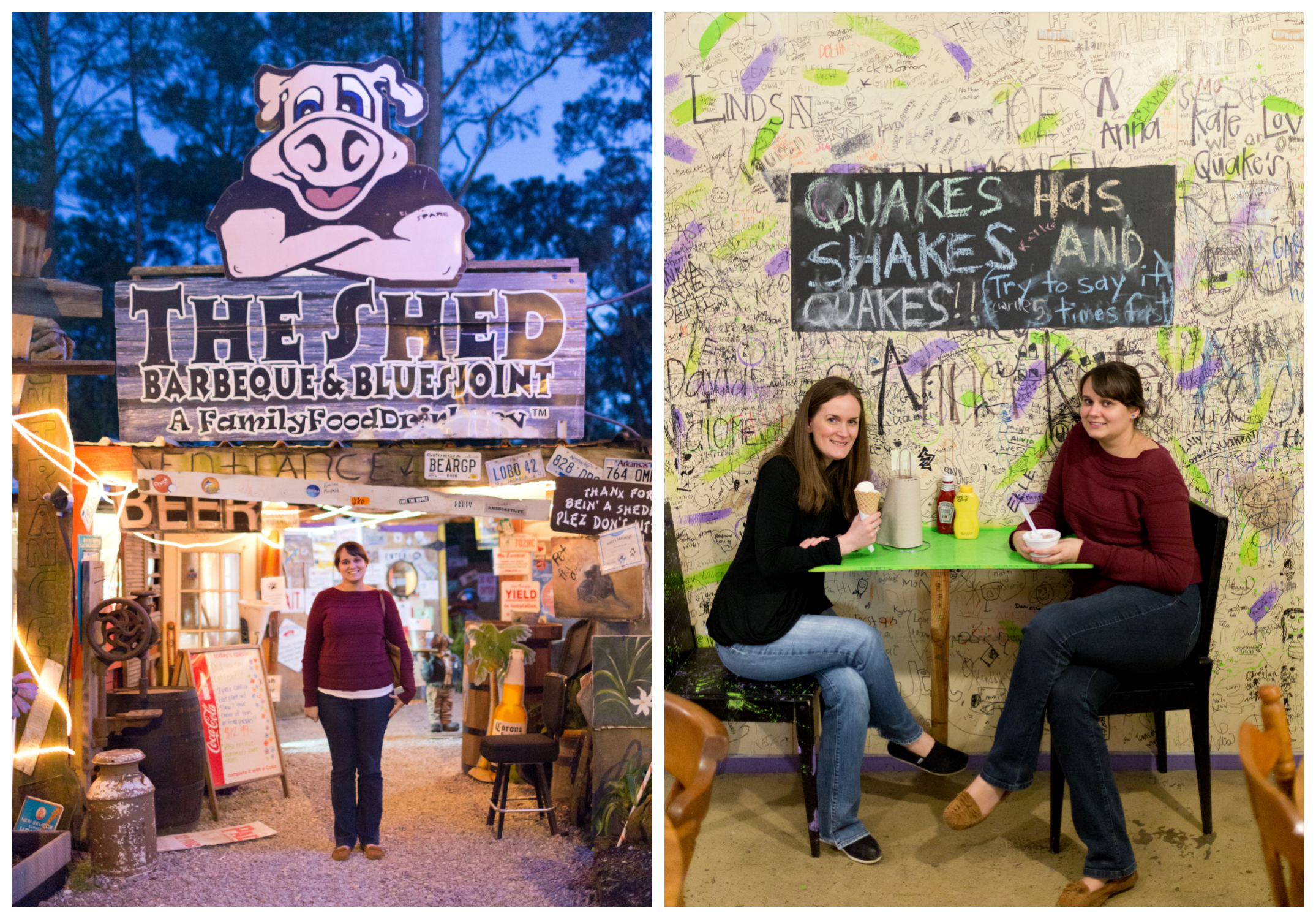 The Shed and Quakes (Ocean Springs restaurants)