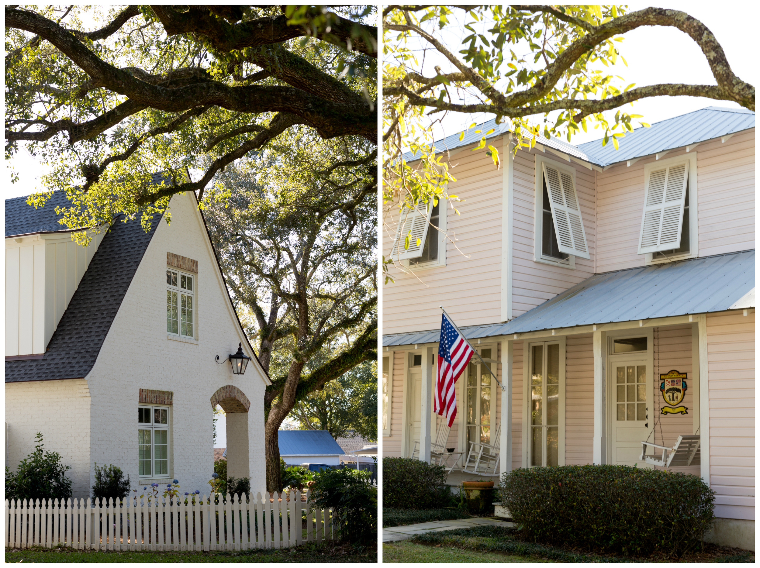 charming homes in Fairhope, Alabama