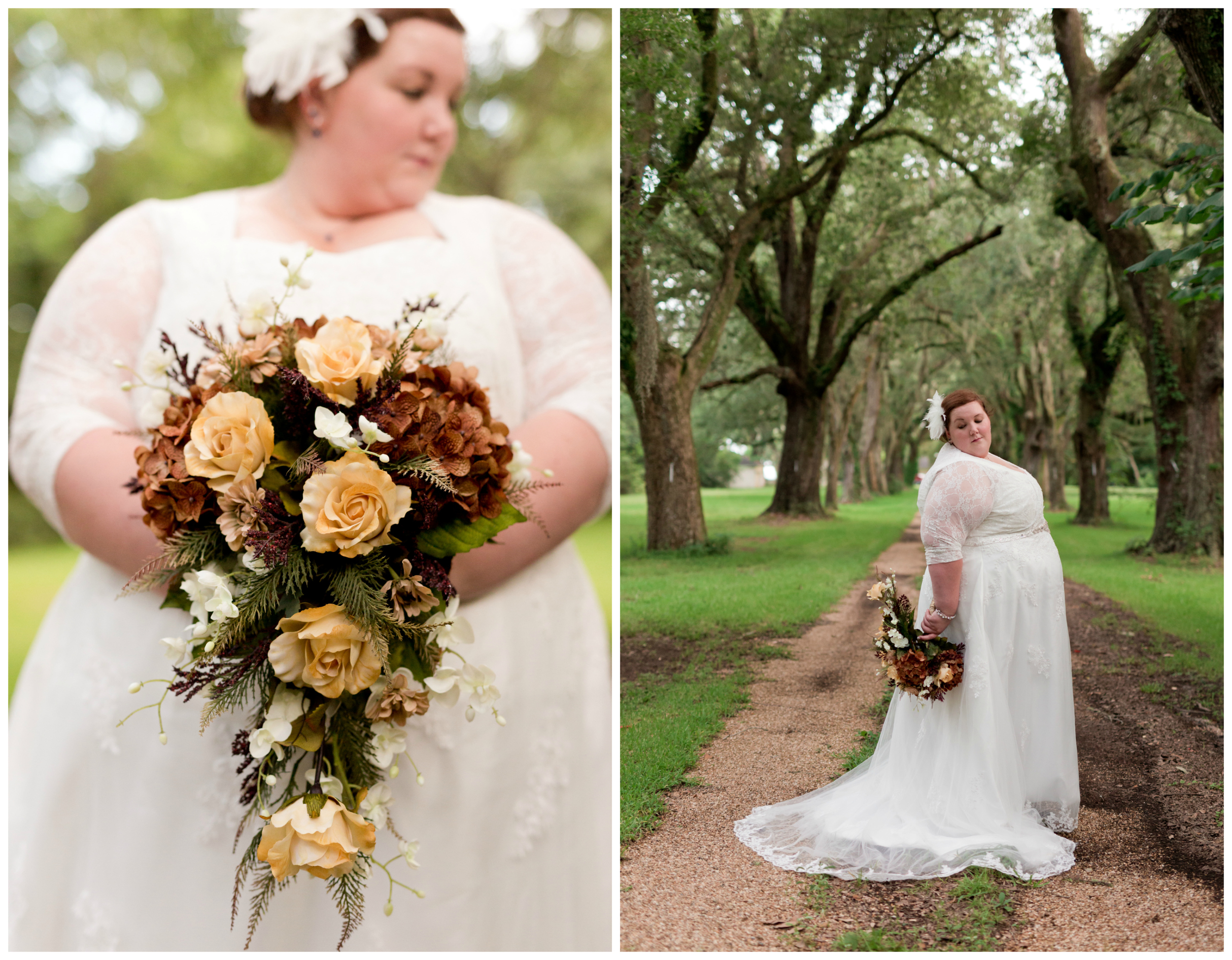classic Southern bridal portraits (Uninvented Colors Photography)