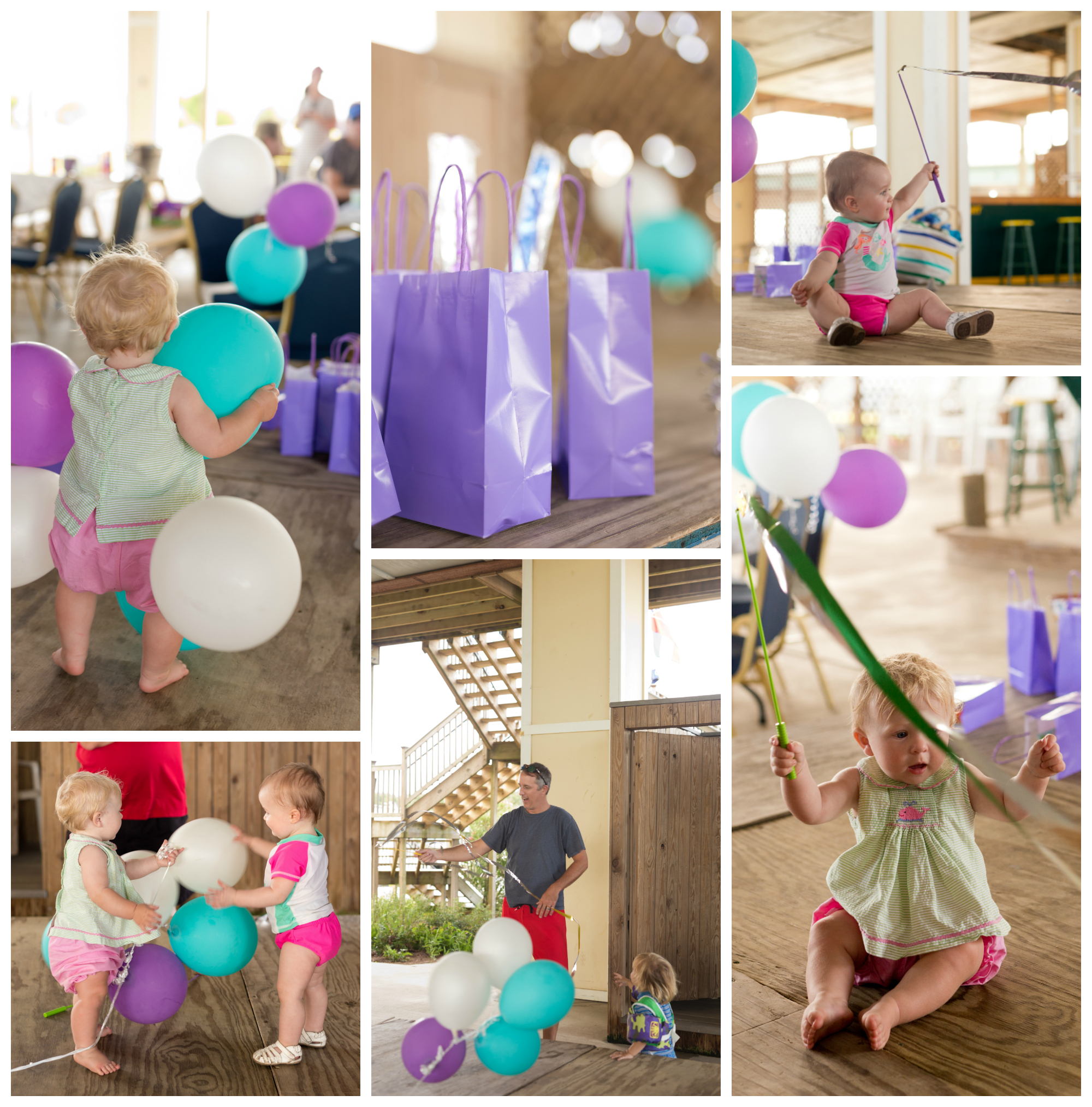 first birthday party fun