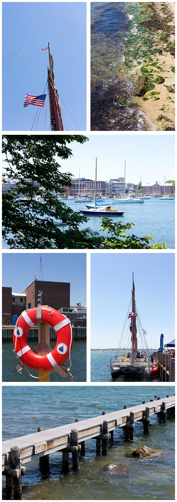 nautical fun in Woods Hole, Massachusetts (boats, pier on Cape Cod)