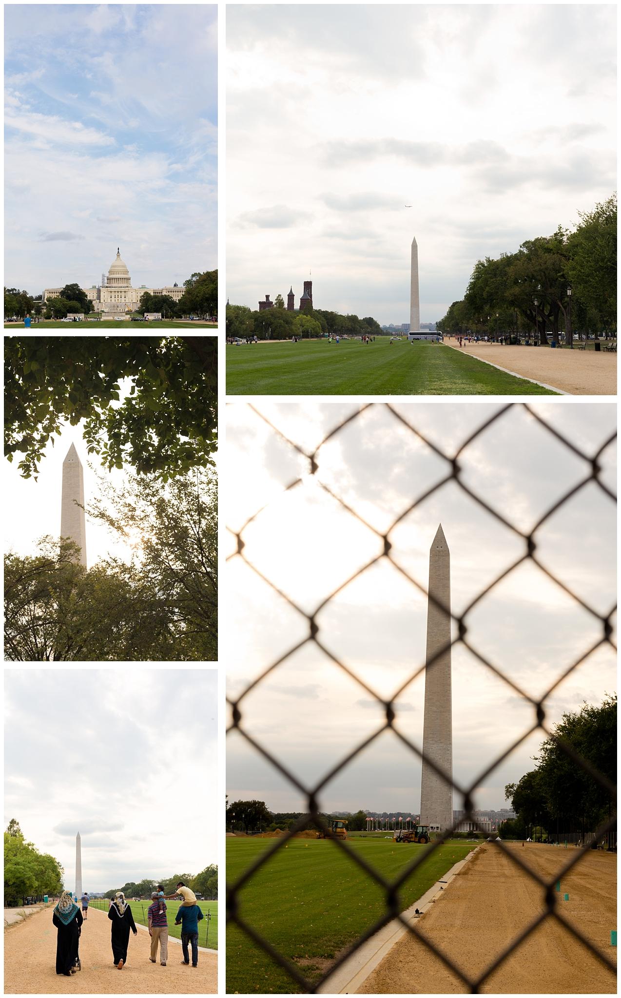National Mall (Capitol and Washington Monument) in Washington, DC
