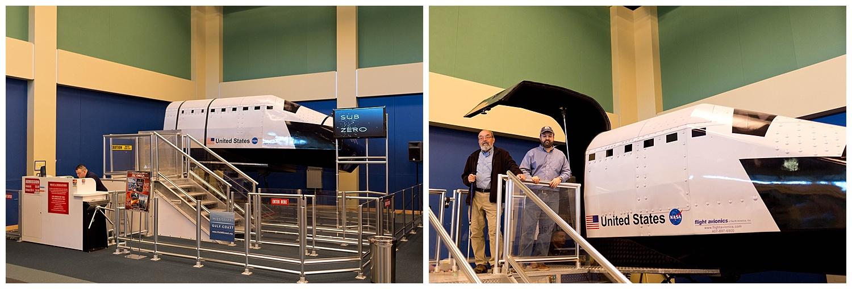 flight simulator at Stennis Space Center