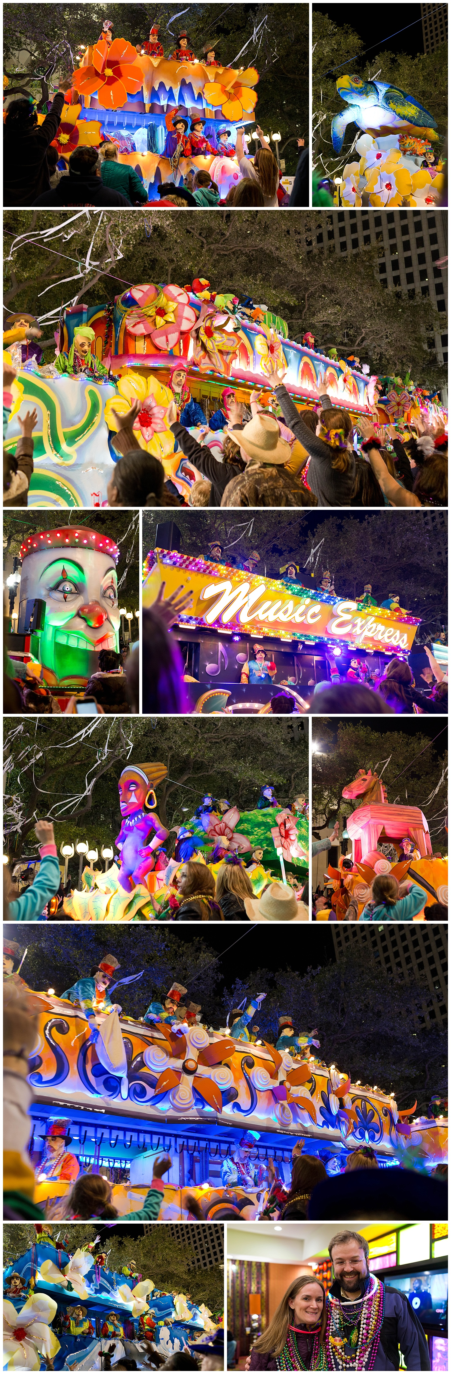 Endymion parade, New Orleans