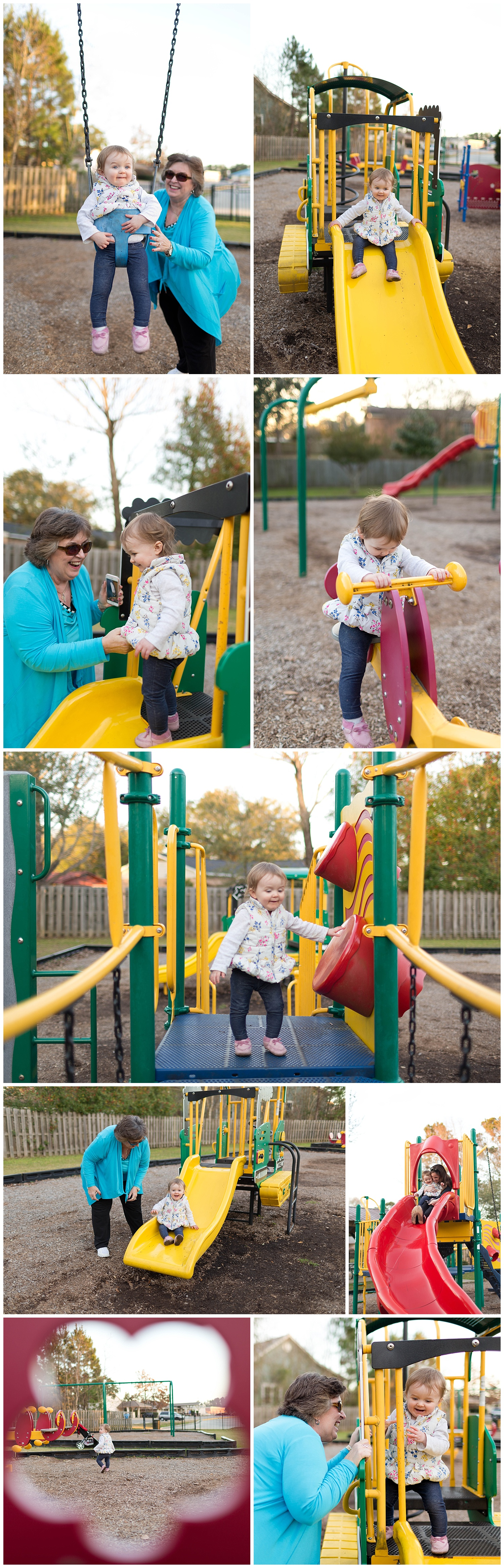 lifestyle family photos at park in Ocean Springs, Mississippi