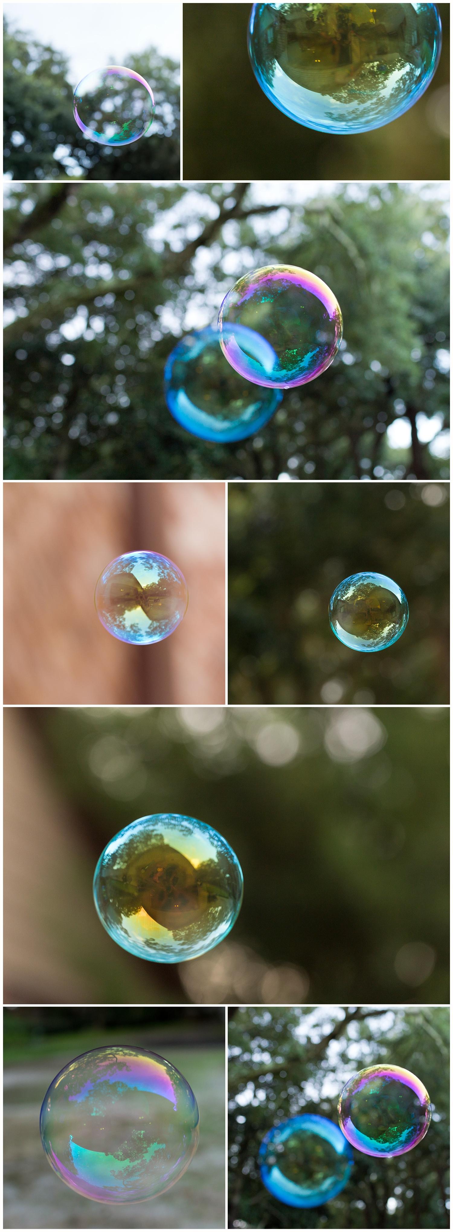 blowing bubbles - bubble photography