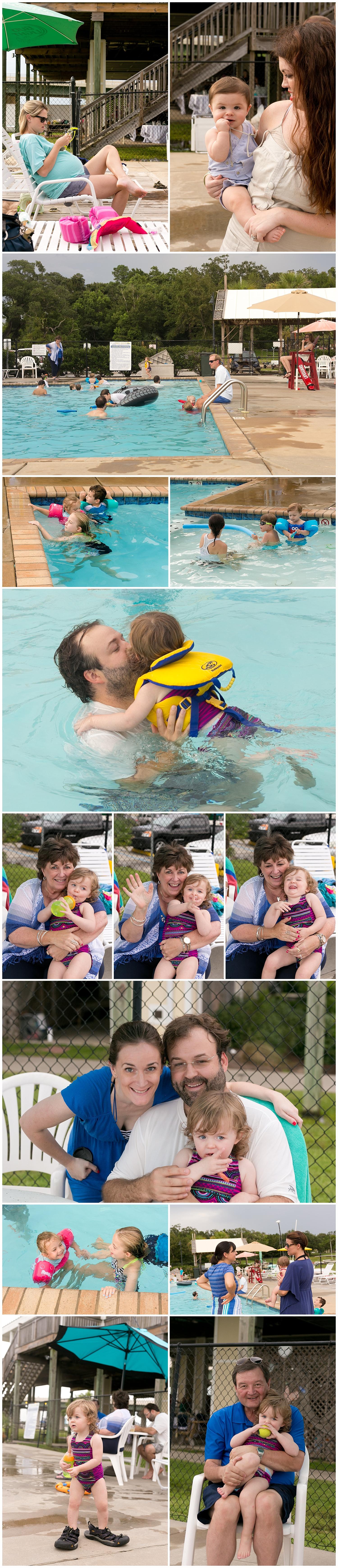 Ocean Springs yacht club kids' pool party
