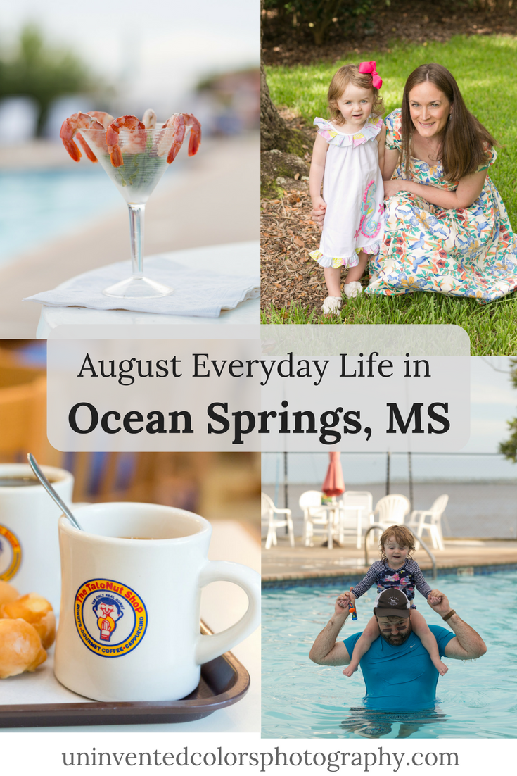 Ocean Springs, Mississippi family lifestyle photography