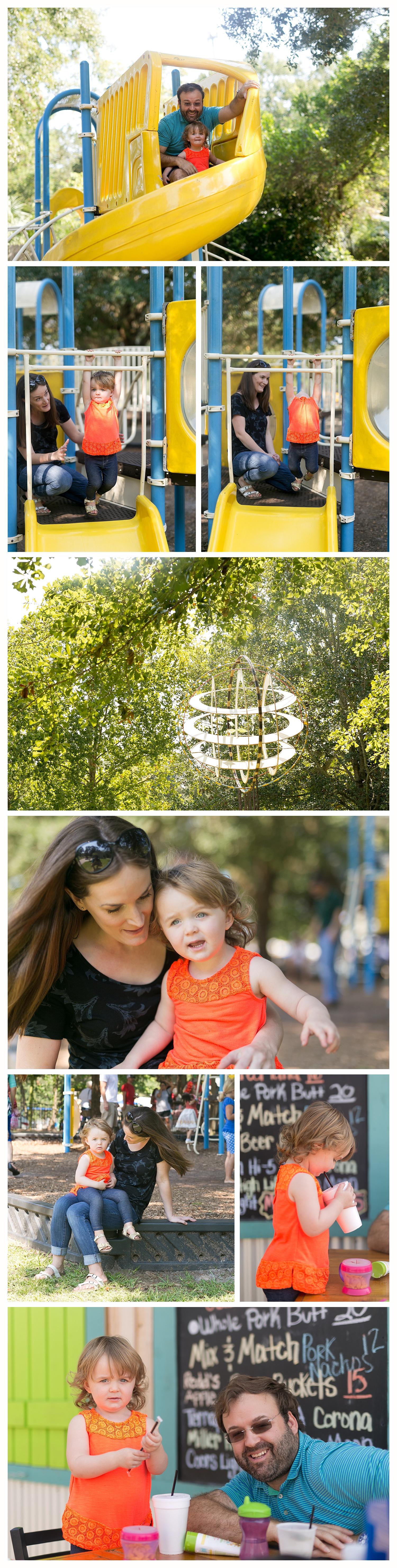 Little Children's Park in Ocean Springs, The Bling Tiger Biloxi restaurant