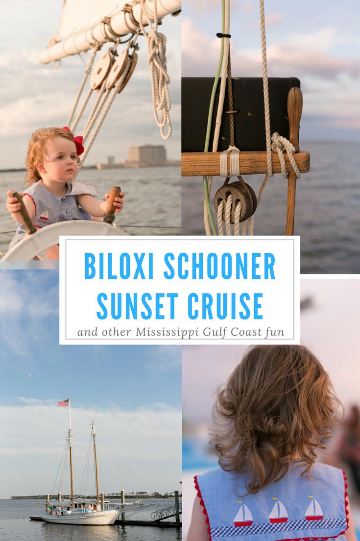 Biloxi Schooner Sunset Cruise (photo and travelogue)