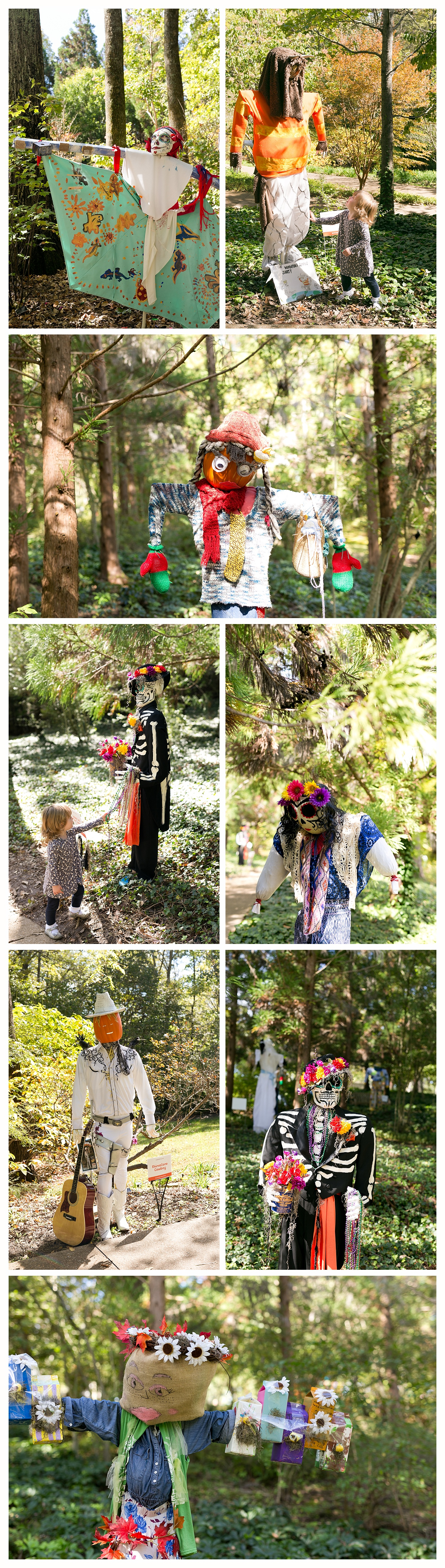 scarecrows at Cheekwood Estate and Gardens