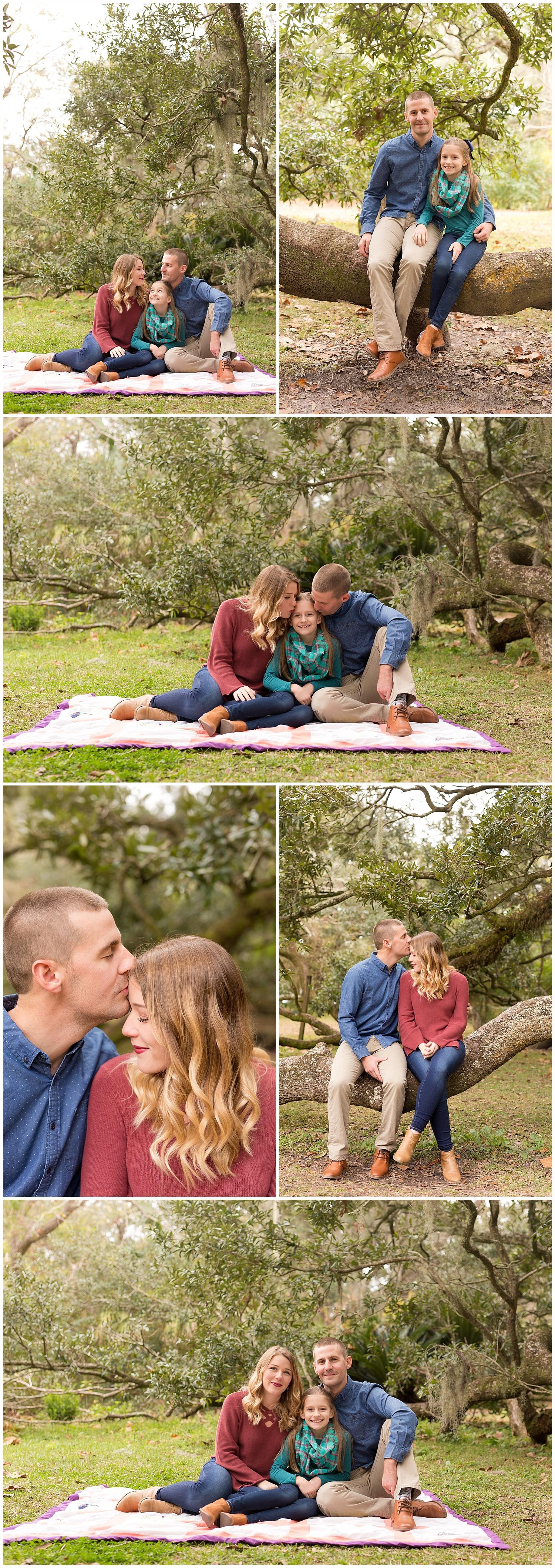 Ocean Springs family photographer - Ruskin Oak family portraits