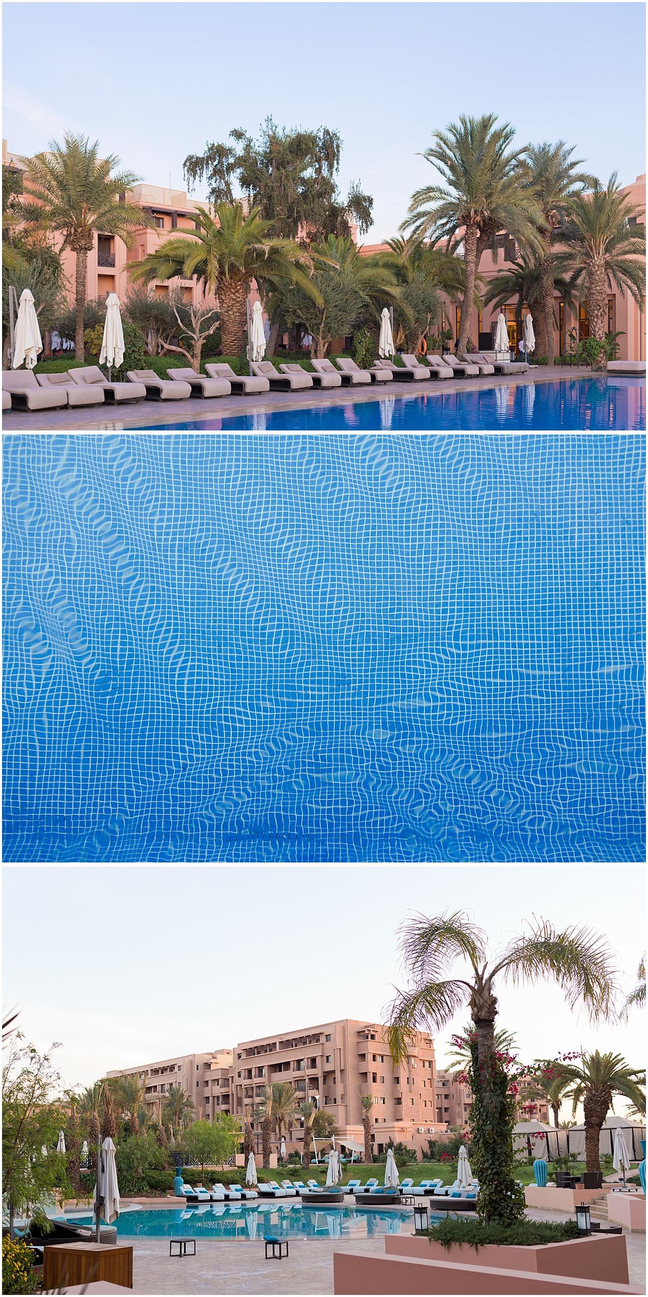 beautiful pool at Morocco hotel - Movenpick Marrakesh