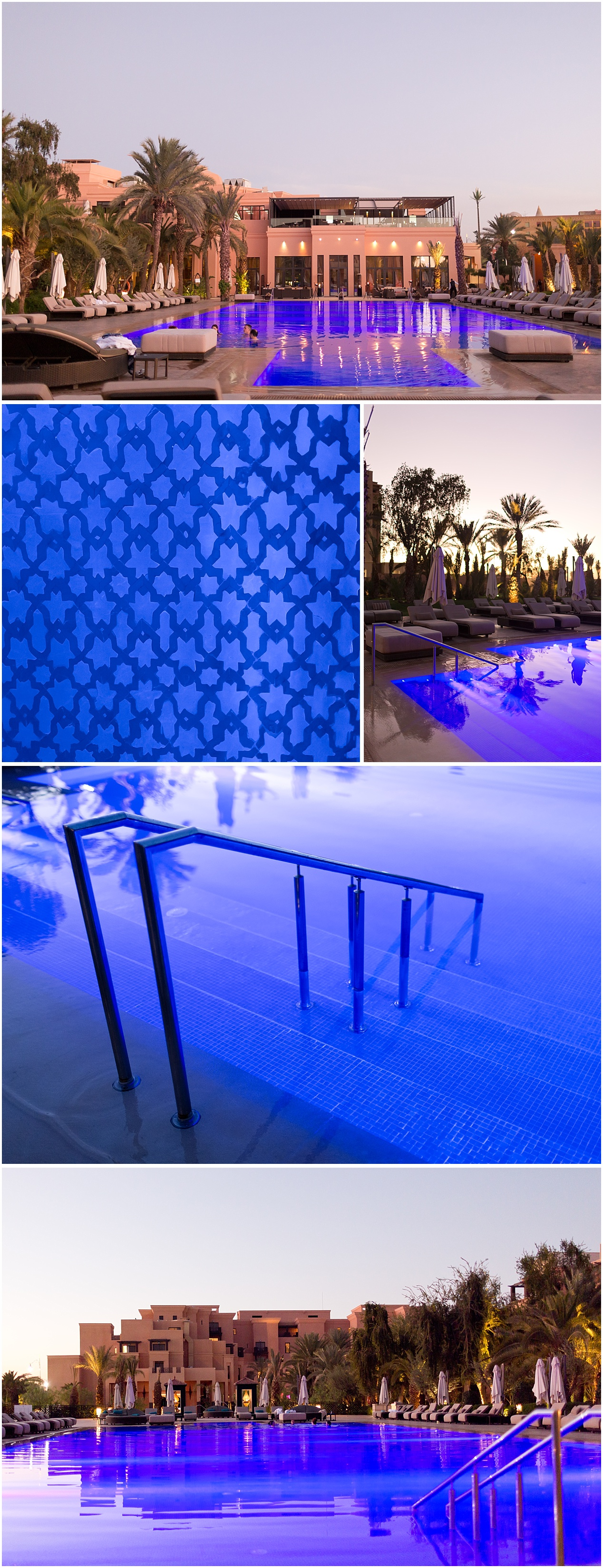 luxurious outdoor pool at Morocco Hotel - Movenpick Marrakesh