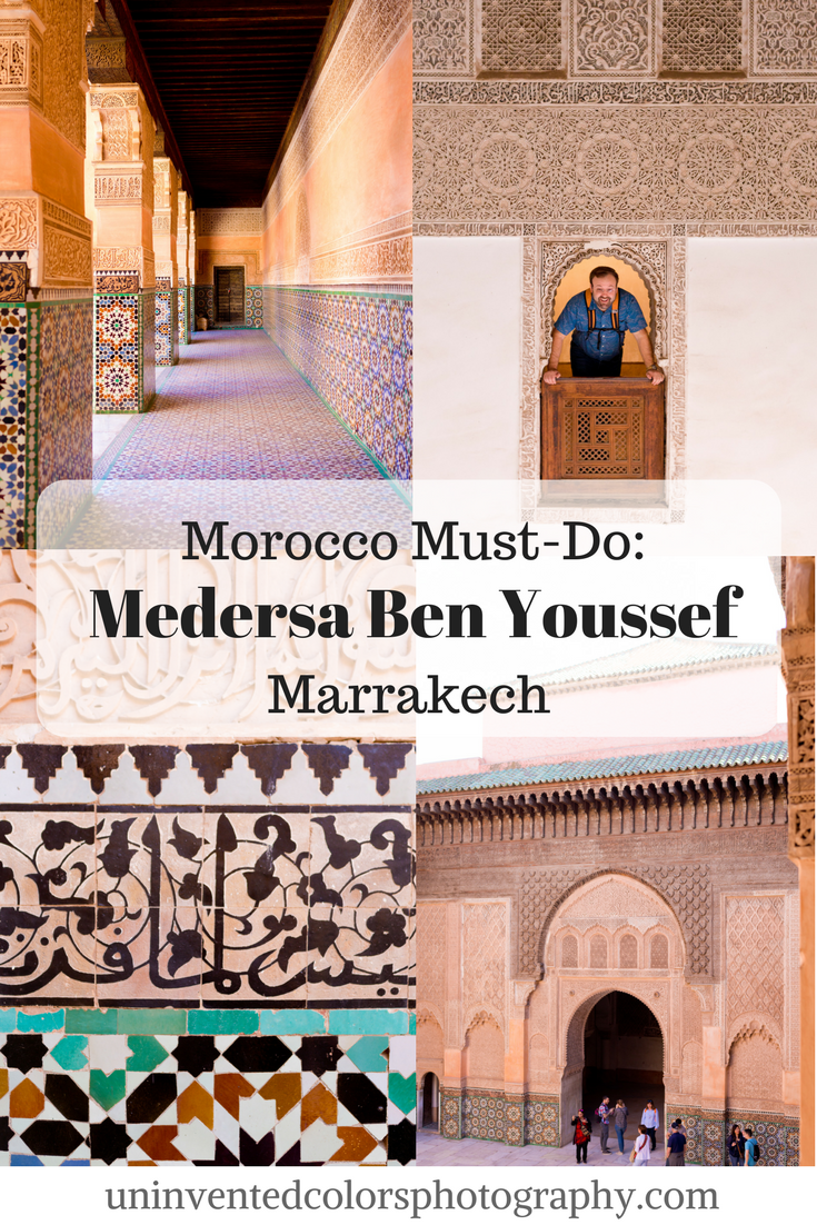 Marrakech, Morocco Travel Blog: Medersa Ben Youssef Travel Photos and Travelogue