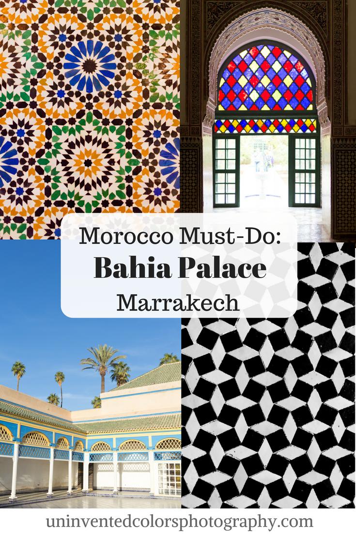 Marrakesh, Morocco Travel Blog: Bahia Palace Photos