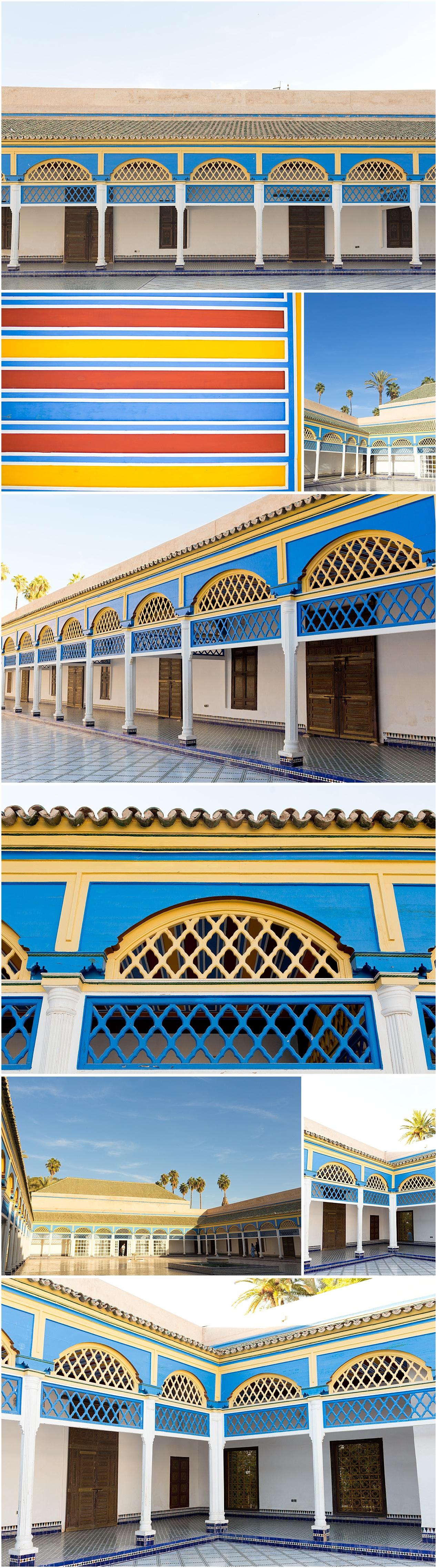 courtyard at Bahia Palace - Marrakech, Morocco photos