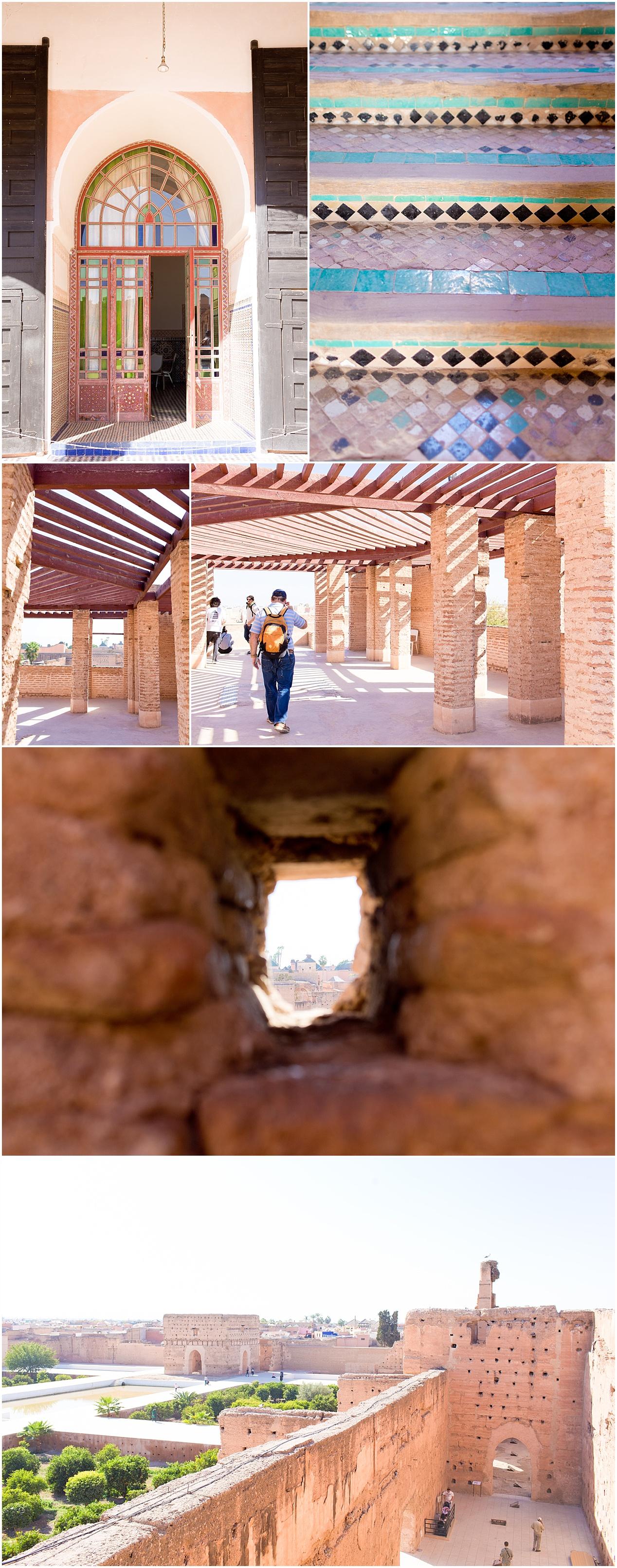 vista at Badi Palace, Marrakech, Morocco