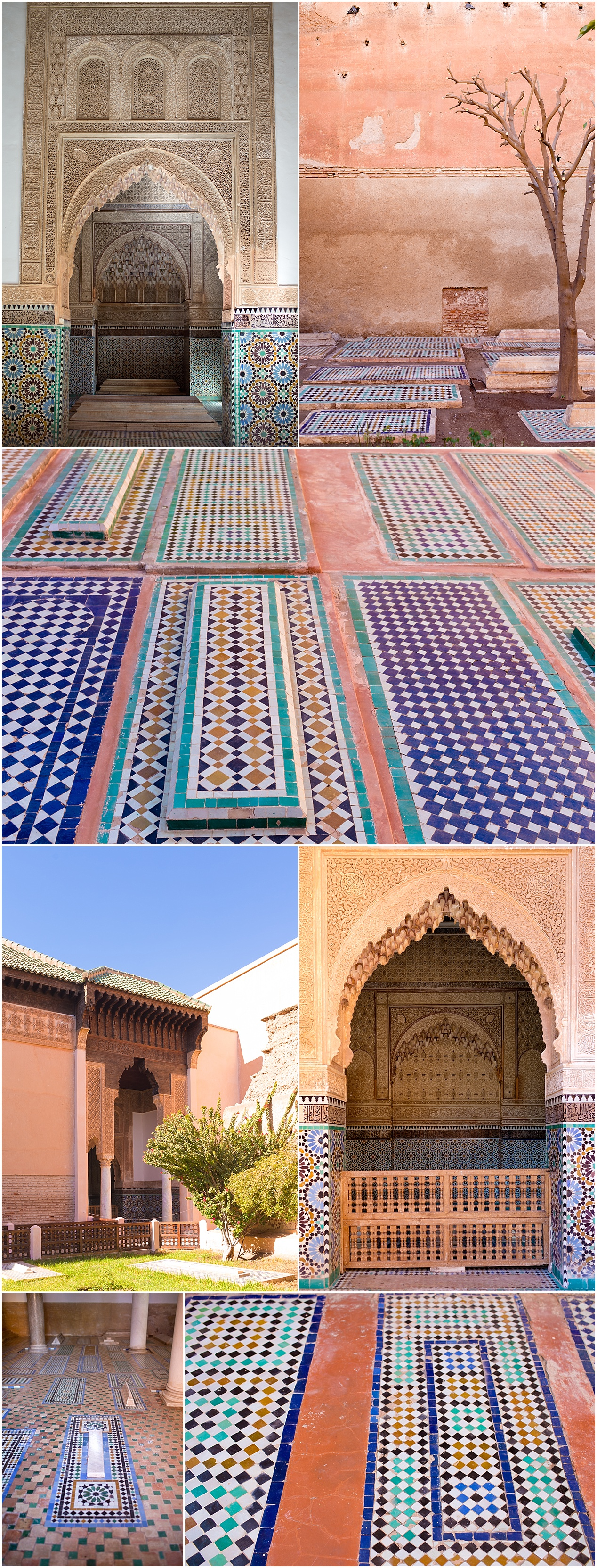 Saadian tombs of Marrakech, Morocco - travel blog