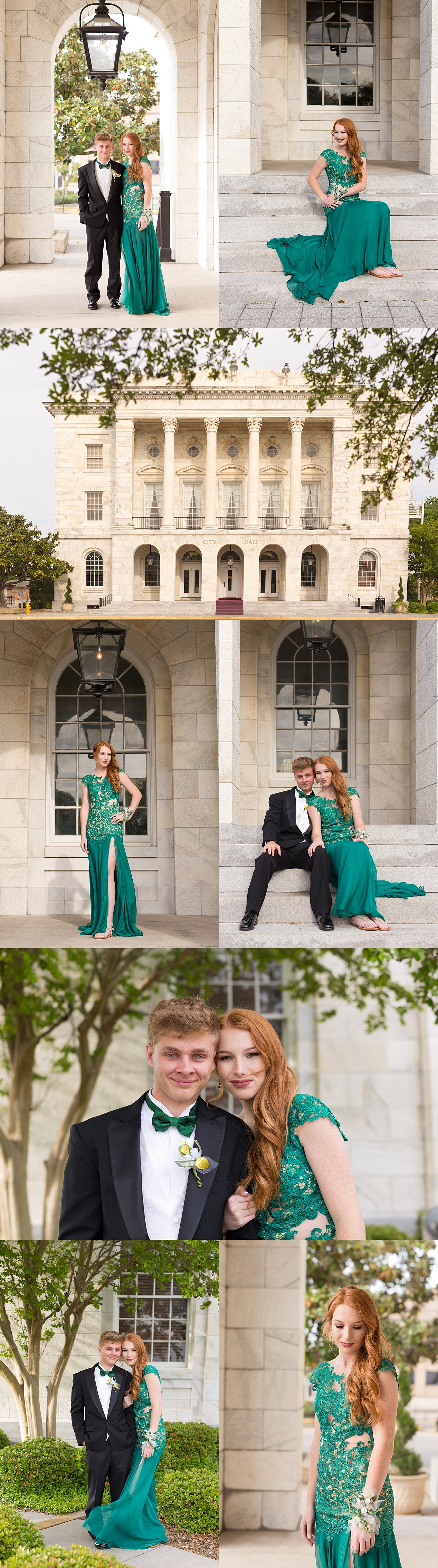 Biloxi Prom Photographer - Prom Pictures at Biloxi City Hall