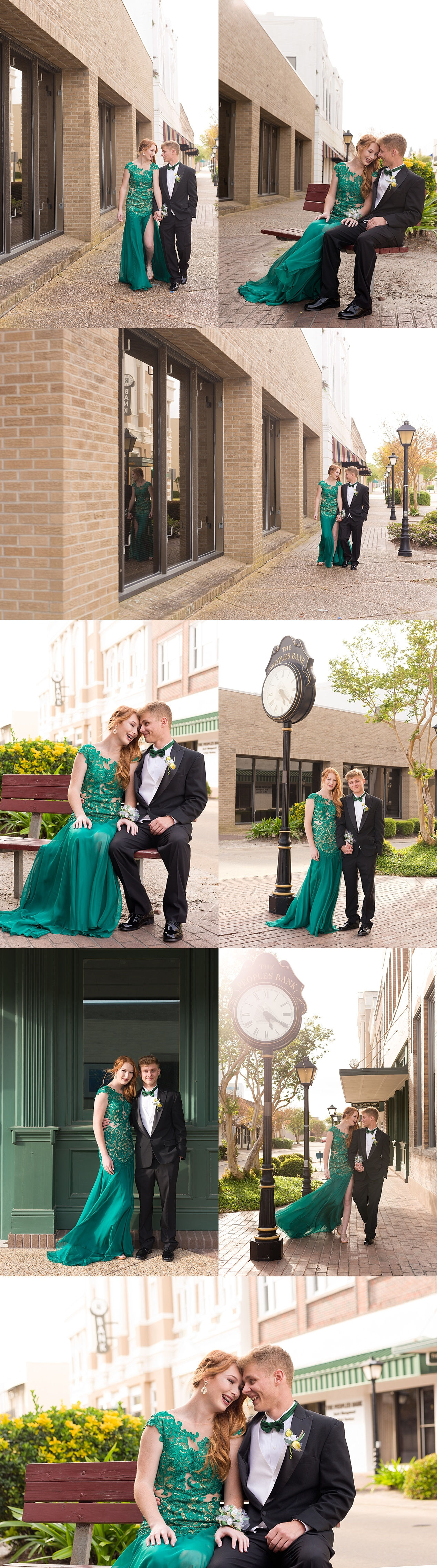 Downtown Biloxi Prom Portraits