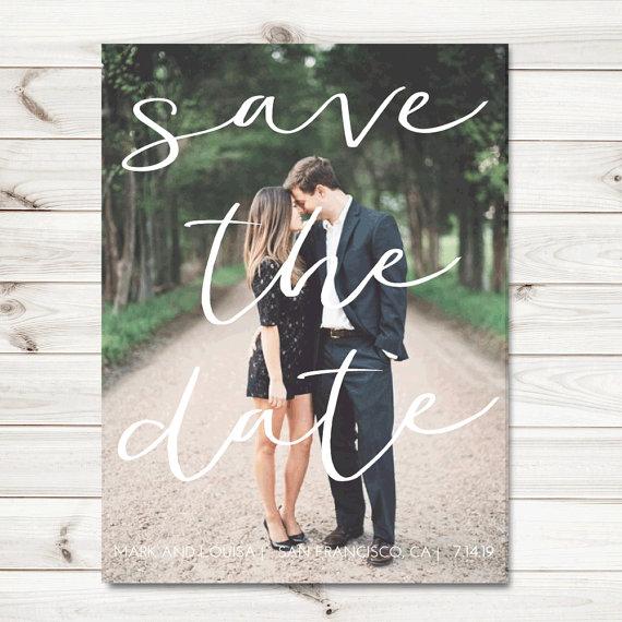 Ocean Springs wedding photographer Save the Date Ideas