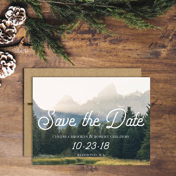 Destination wedding save the date ideas - Mississippi wedding photographer
