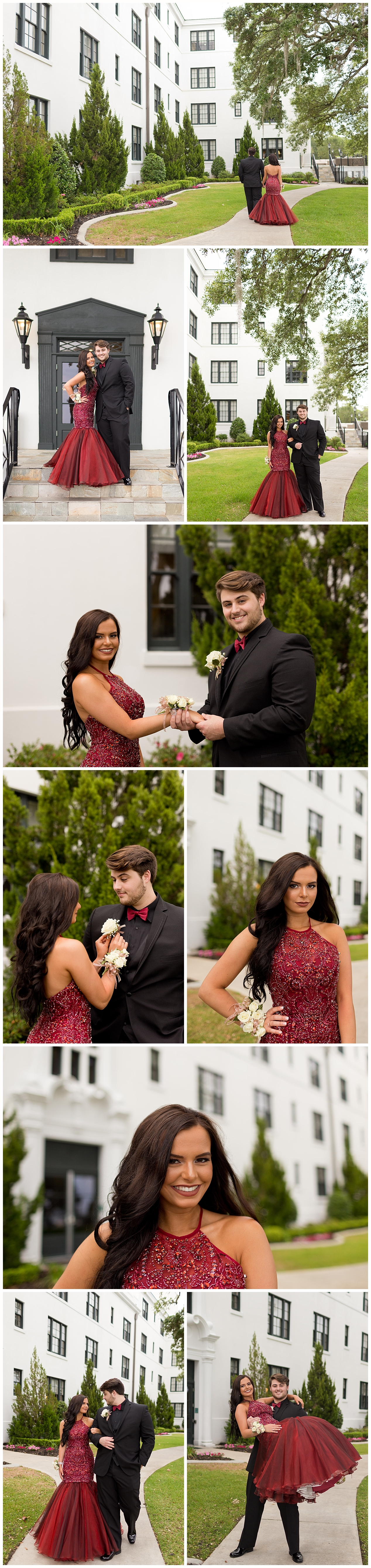 prom photographer in Biloxi, Mississippi - White House Hotel prom pictures