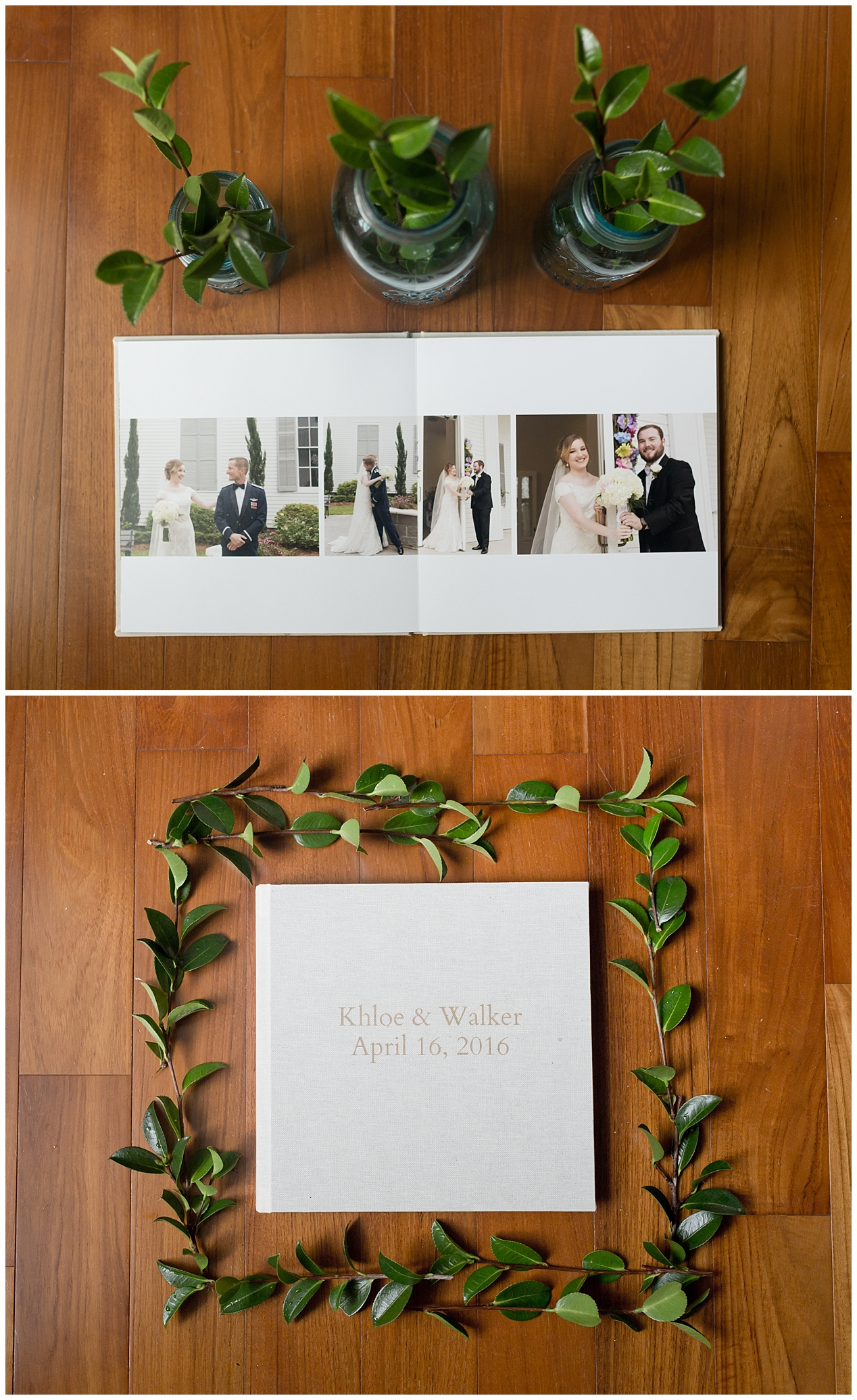 wedding photography in Ocean Springs, Mississippi - wedding albums