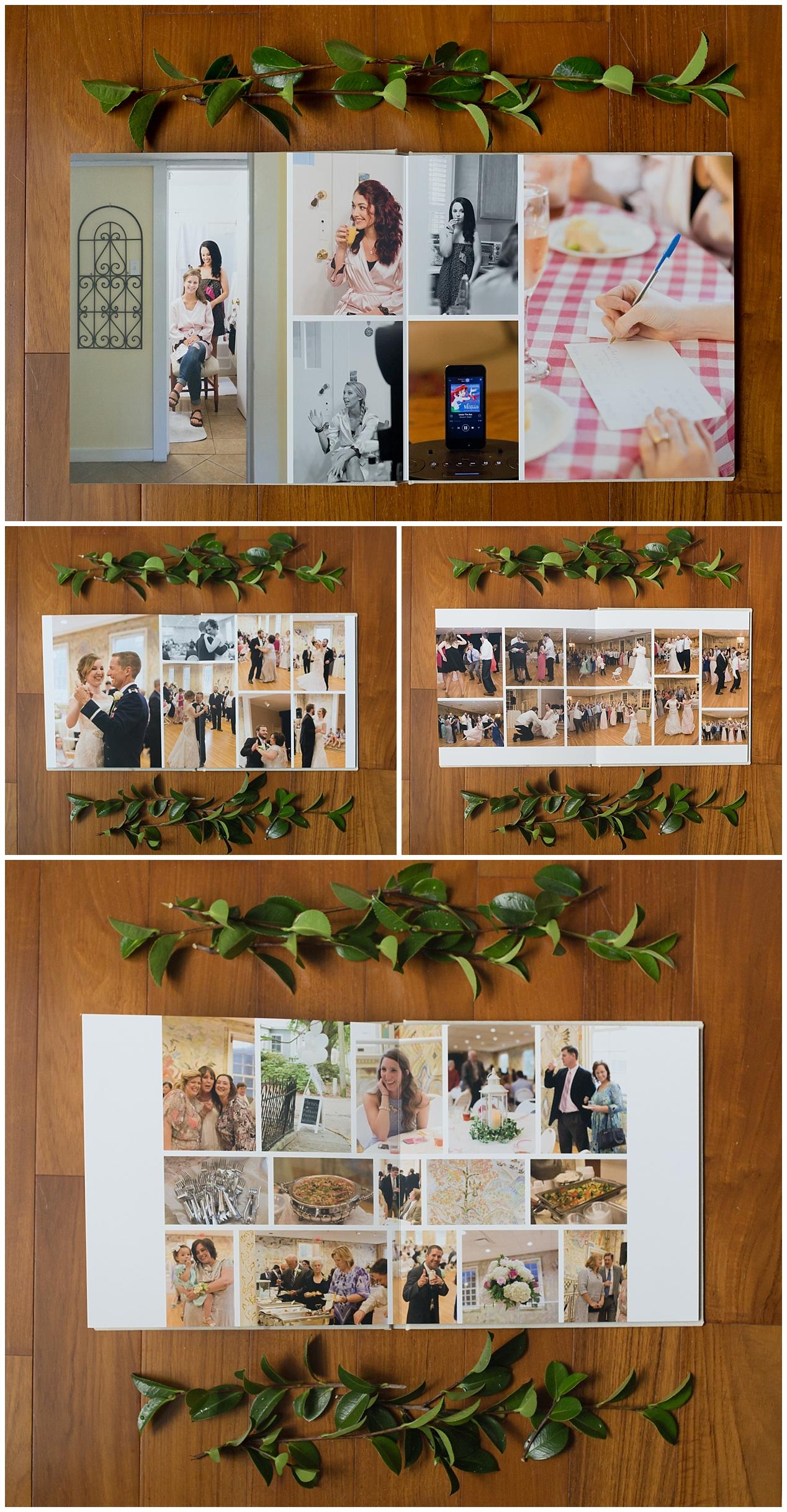 Ocean Springs wedding photography - wedding day album