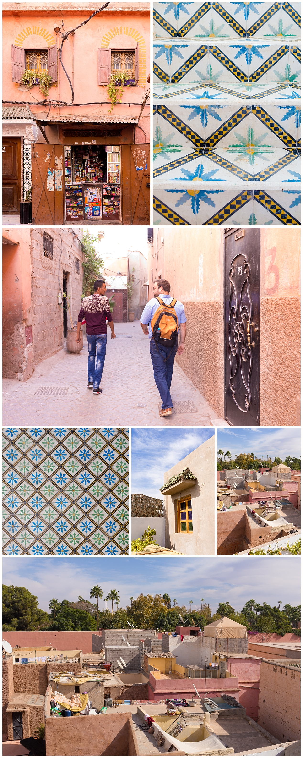 tourists in Marrakech