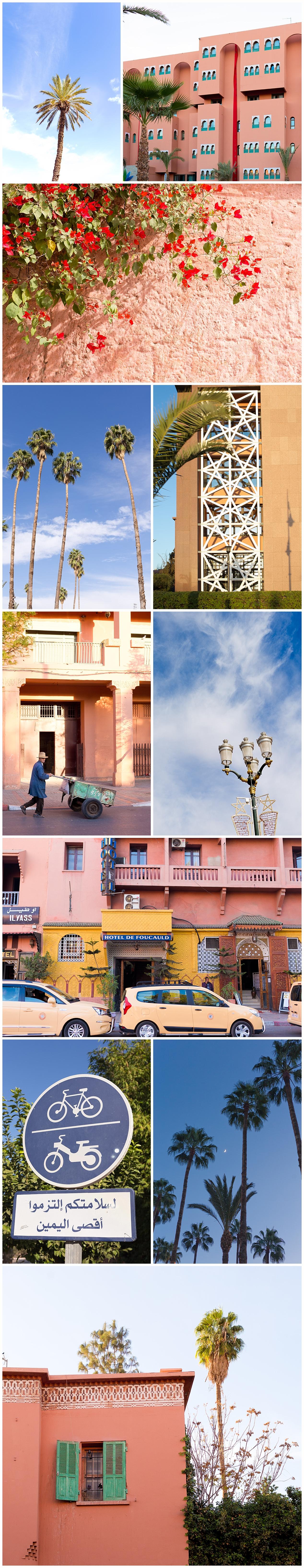 scenery details in Ville Nouvelle Marrakech