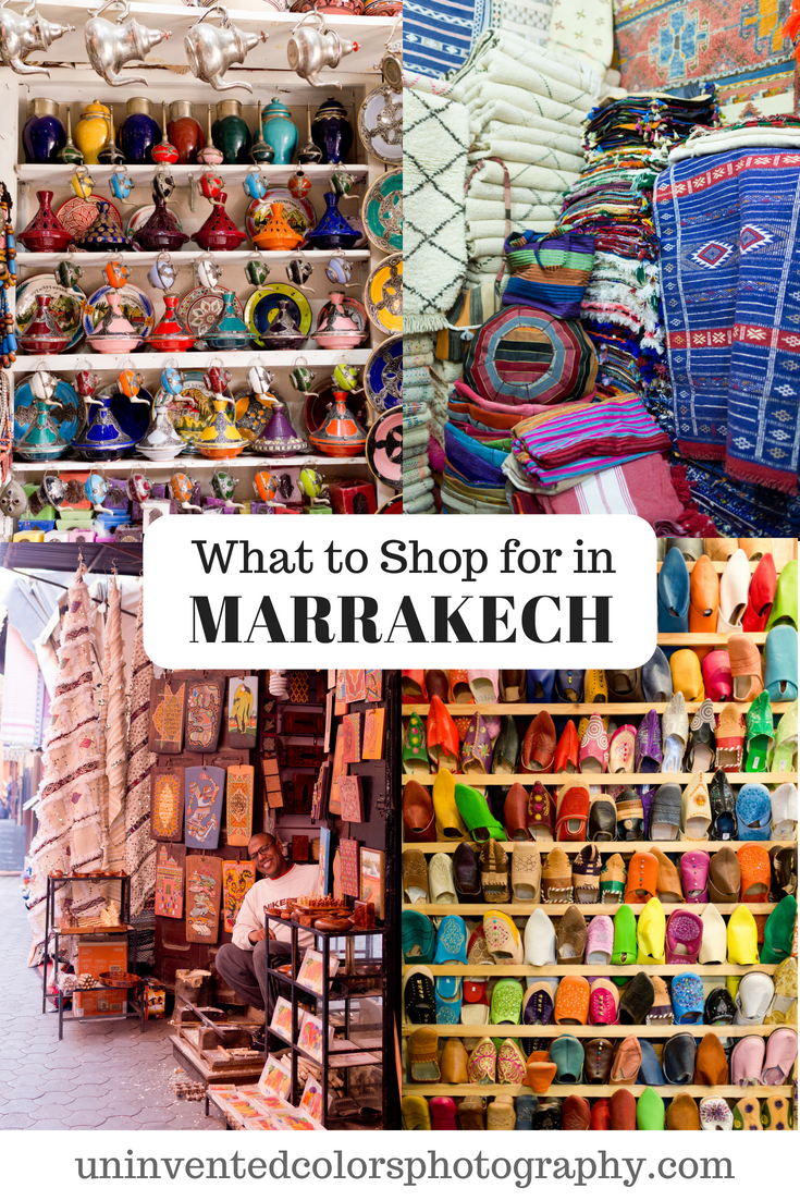Guide to Shopping in Marrakech, Morocco