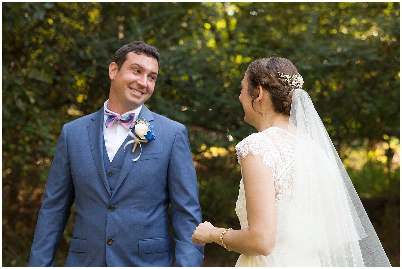 first look - destination wedding photographer