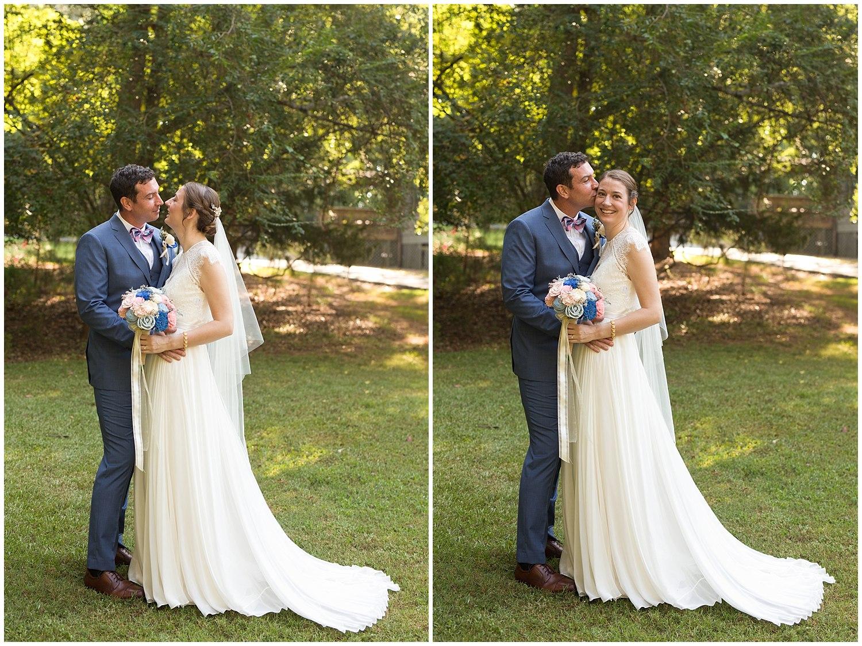 beautiful outdoor wedding portraits