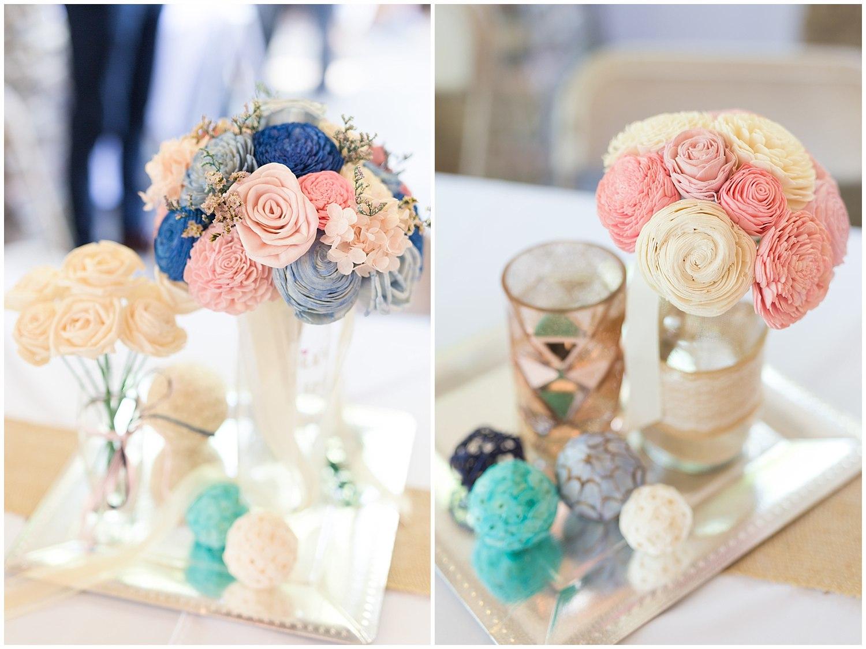 wedding reception centerpieces - destination wedding photographer