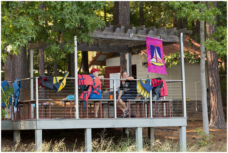 summer camp activities on wedding day