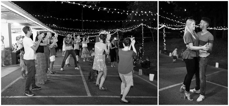 dance floor at Clemson Outdoor Lab