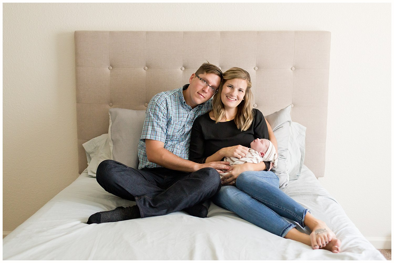 Biloxi newborn photographer - lifestyle photos at home