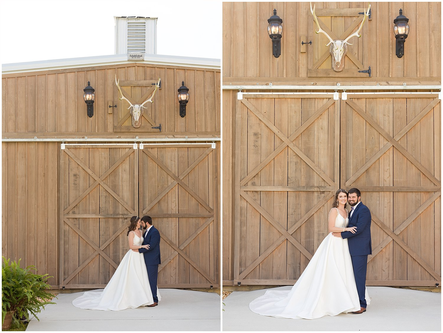 wedding photos at The Barn at Love Farms in Kiln, MS