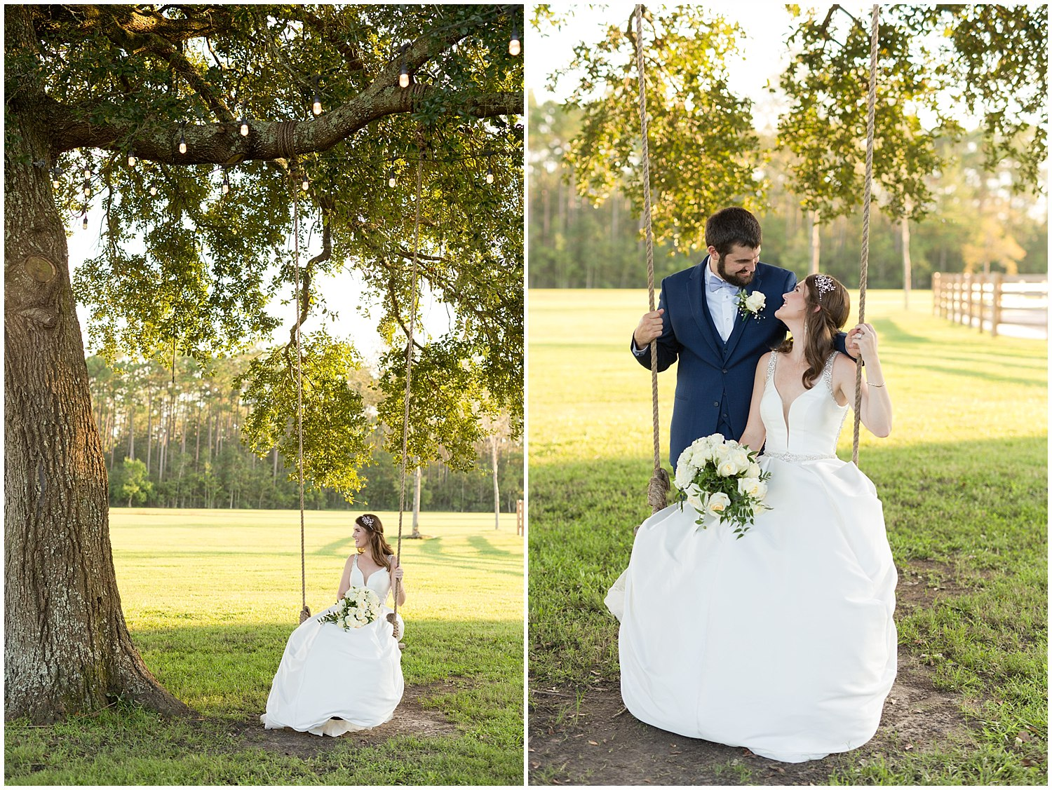 Southern Mississippi wedding photographer - portraits at The Barn at Love Farms