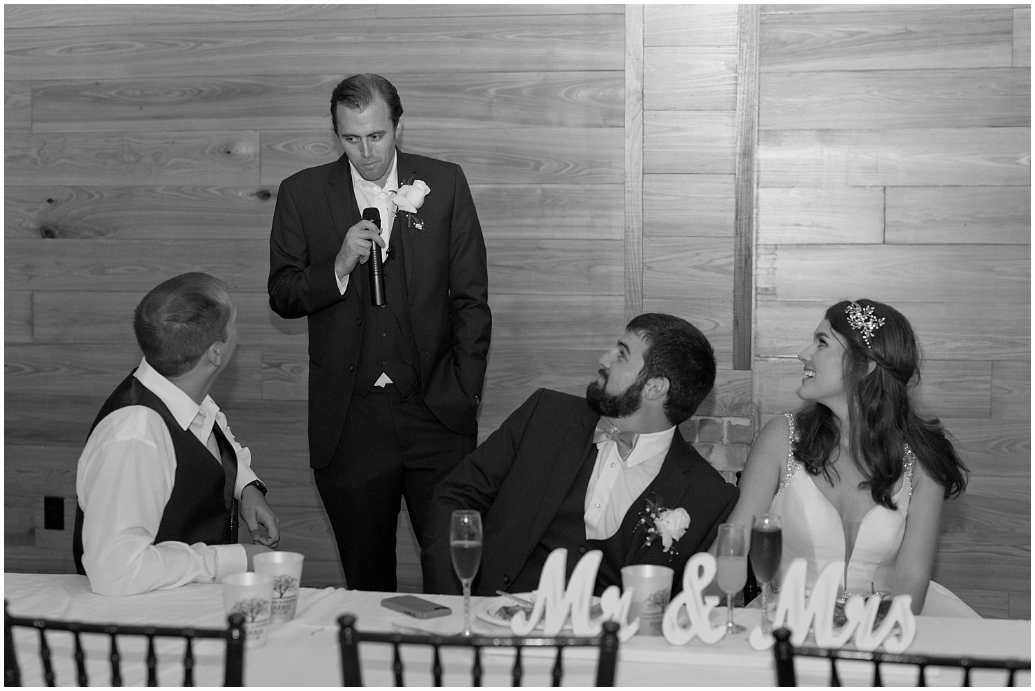 groomsman speech at wedding reception