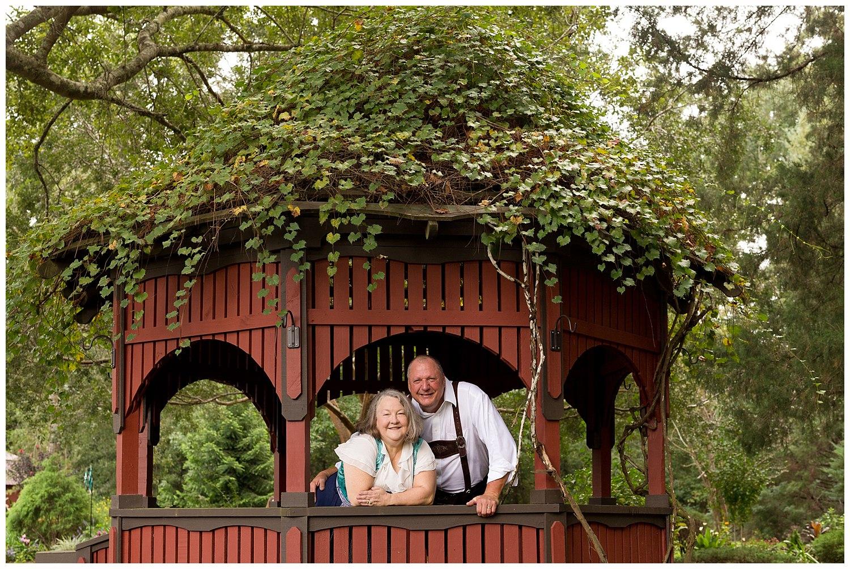 grandparents in authentic German attire