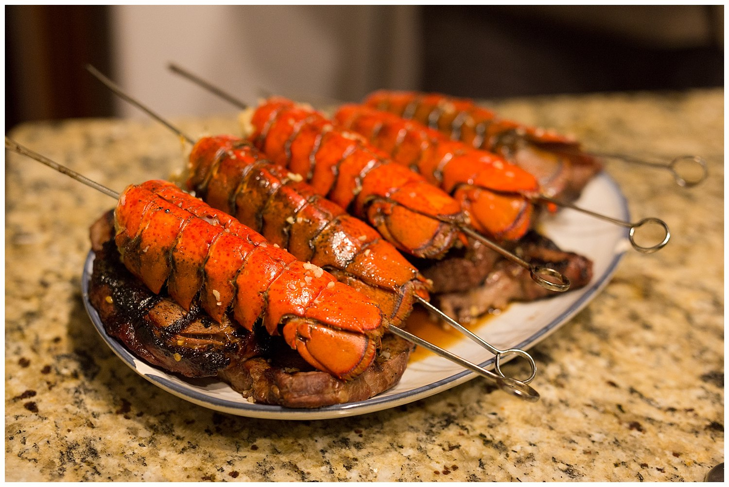 homemade lobster tails for New Year's Eve