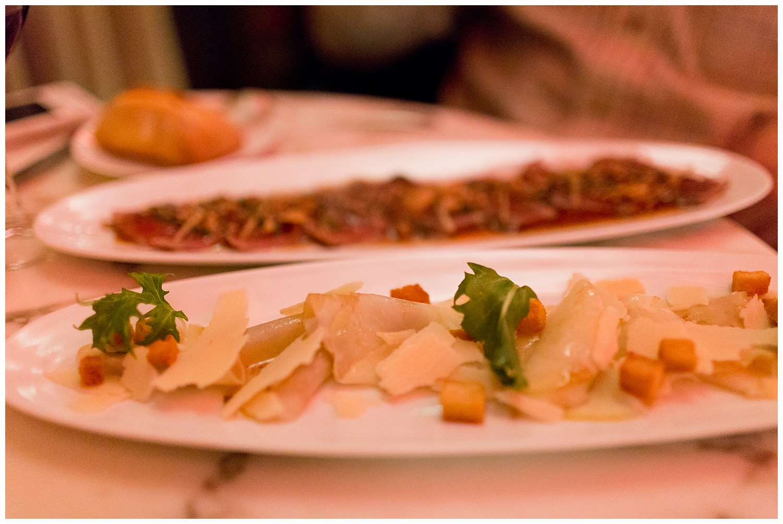 plates of food at Café de l'Homme