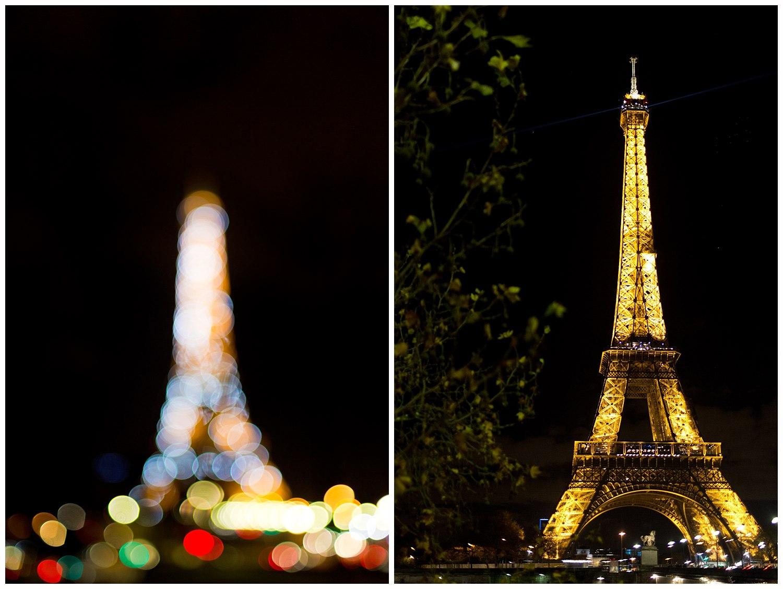 Eiffel Tower bokeh