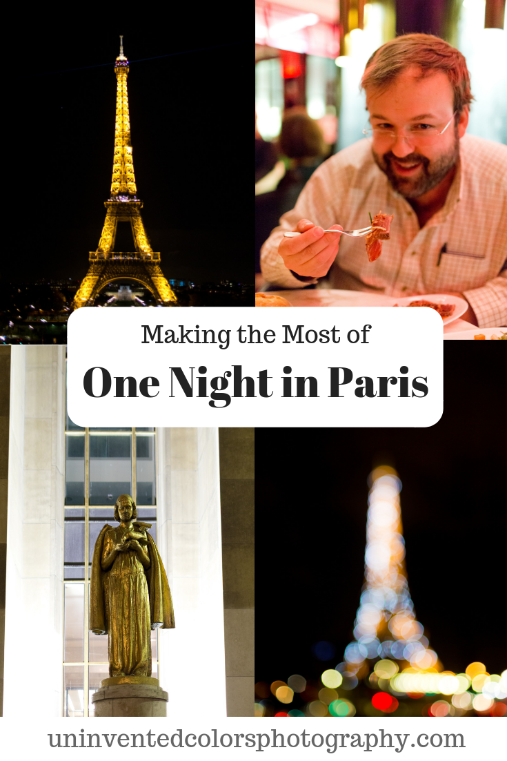 How to make the most of spending one night in Paris, France
