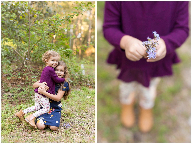 outdoor sibling photos in Ocean Springs, MS