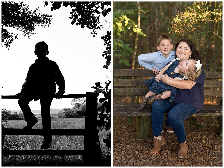 outdoor family photos in Ocean Springs
